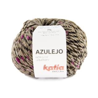 Katia AZULEJO 403 Bleekbruin-Camel-Bleekrood bad 44455A