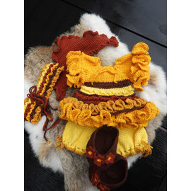 XXL Funny kledingset Gypsy Girl Honey