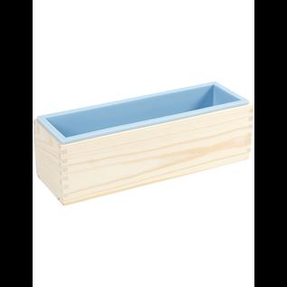 Siliconen Mal in Houten Box 8,6x27,5x8 cm