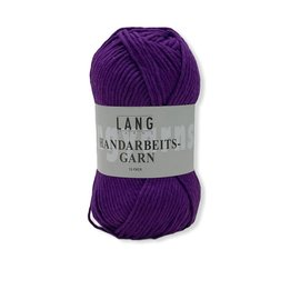 Lang Yarns Handarbeitsgarn 0690 paars bad 102 50gr.