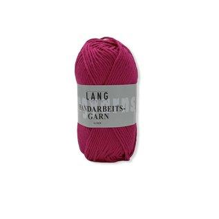 Lang Yarns Handarbeitsgarn 685 donker roze bad 108 50gr.