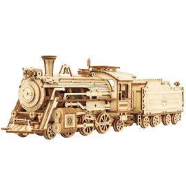 3D Houten Puzzel, Prime Steam Expres, 30,7×6,7×8,2cm