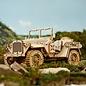 3D Houten Puzzel, Army Field Car, 18,9×9,9×8,9 cm