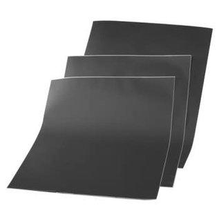 Beschrijfbare Folie Krijtbord Zwart 42x30cm A3 - PER VEL