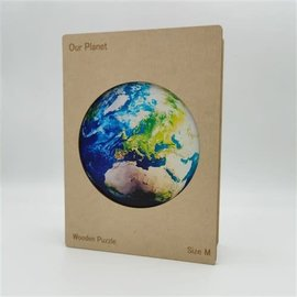 Houten Puzzel Onze Planeet (204 stukjes/20x20cm) **