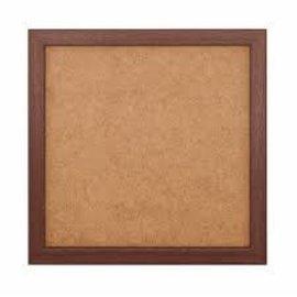 Lijst hout kleur walnoot voor kleine basisplaat 2x2