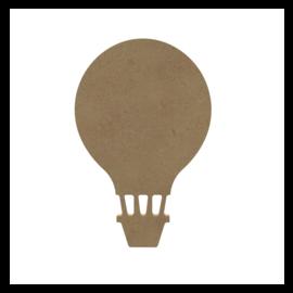 MDF Figuur Luchtballon 15 cm