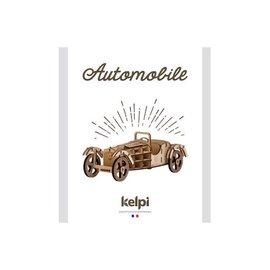 Bouwset Auto in hout 10.5x21.5cm