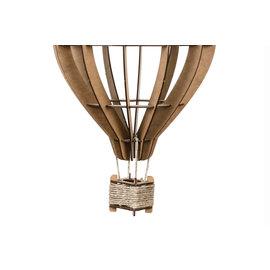 Bouwset Luchtballon in hout 24x17cm