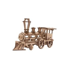Bouwset Stoomtrein XL in hout 72x22cm