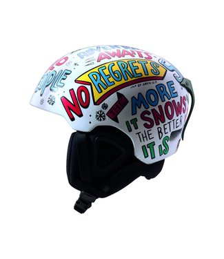 DMD No Regrets - Casco de esquí en molde blanco