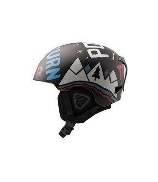 DMD Polvo - Casco de esquí en molde Negro