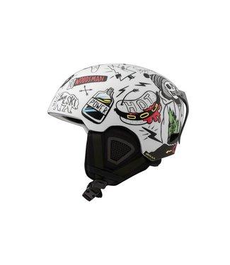DMD Skulls - In-mold ski helmet white