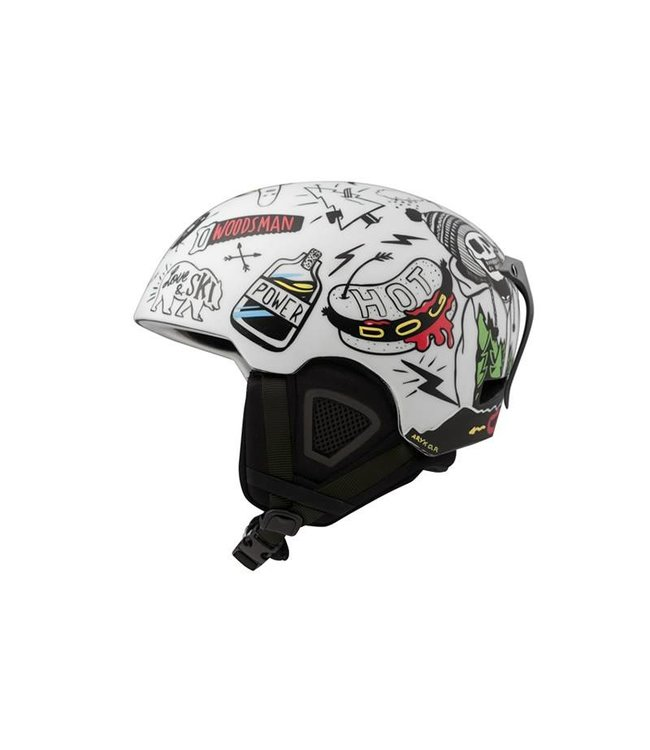 DMD Skulls - In-mold ski helmet white
