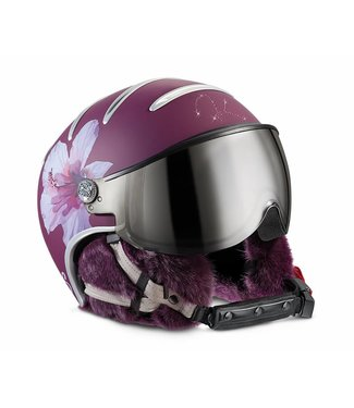 Kask Lifestyle Lady Pelz Hybiscus lila