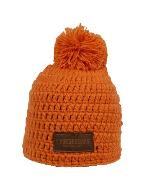3b9bfac1 Poederbaas Beanie daily life - Orange