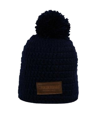 Poederbaas Beanie daily life - Dark Blue
