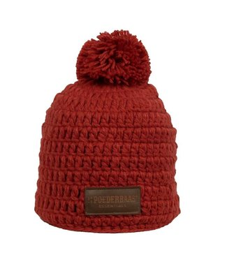 Poederbaas Beanie daily life - Red