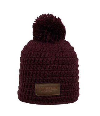 Poederbaas Beanie daily life - Dark Red