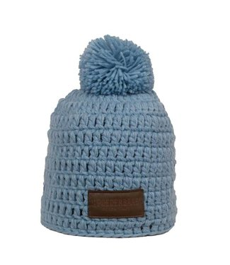 Poederbaas Beanie daily life - Light Blue