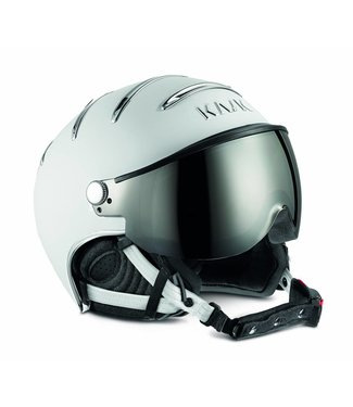 Kask Chrome Wit/Zilver