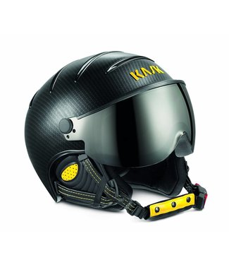 Kask Elite Pro Carbon Black / Jaune