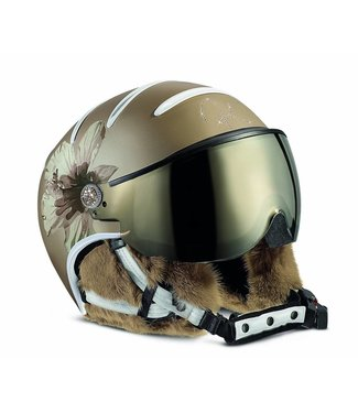 Kask Lifestyle dame bont hybiscus Goud