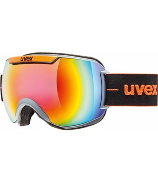 Uvex Downhill 2000 FM Donker Grijs  / Cat. 3 Multi Colour lens