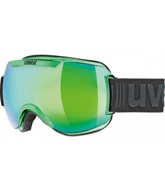 Uvex Downhill 2000 FM Chrome Vert / Cat. 3 lentilles