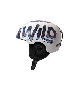 DMD Wild - Casco de esquí en molde blanco