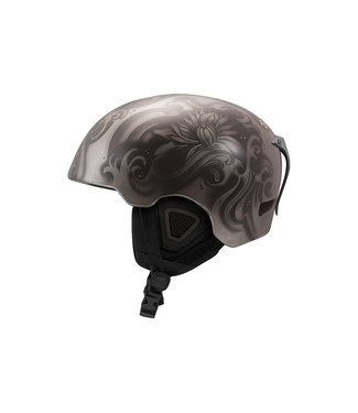 DMD Waves - Silberner In-Mold Skihelm