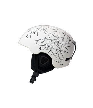 DMD Roses - In-mold ski helmet - White