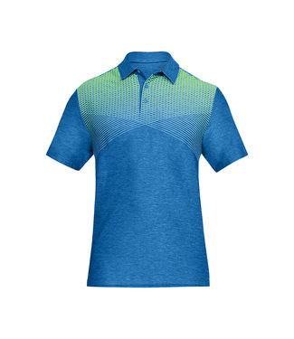 Under Armour Playoff Polo Blue / Green Mediterranean