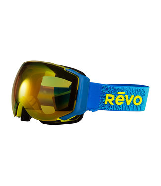 RĒVO Goggles Masque de Wordsmith Bleu / Jaune