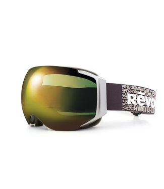RĒVO Goggles Wordsmith Goggle Donker Grijs