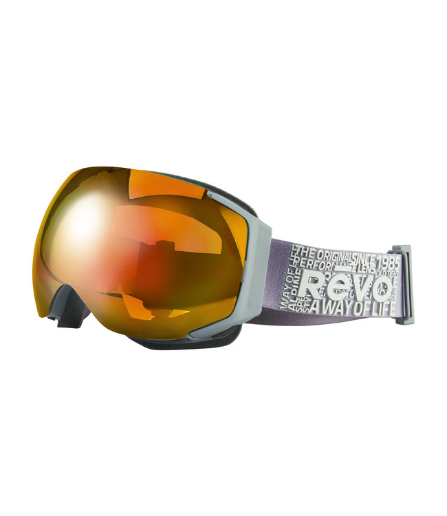 RĒVO Goggles Masque Wordsmith Gris Clair