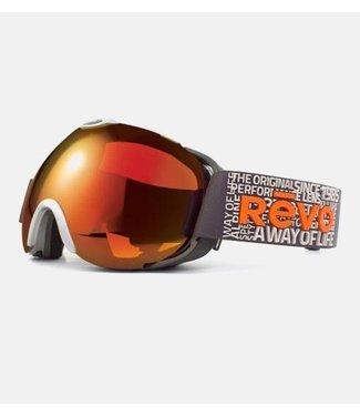 RĒVO Goggles Luna Goggle Grau / Orange