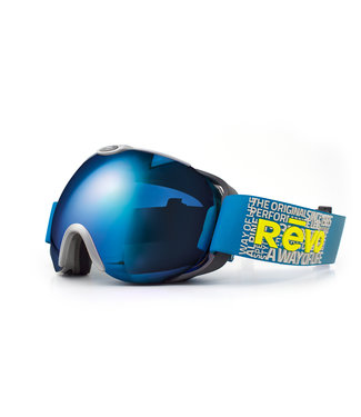RĒVO Luna Goggle Grau / Blau