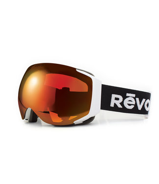 RĒVO Goggles Loki Goggle Zwart / Wit
