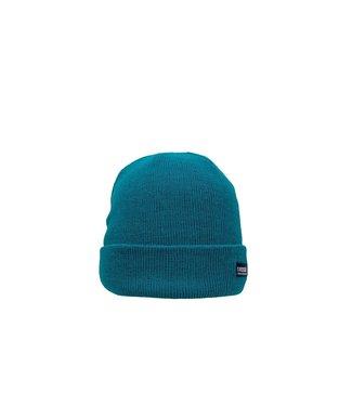 Poederbaas Gorro colorido básico - verde oscuro / verde azulado