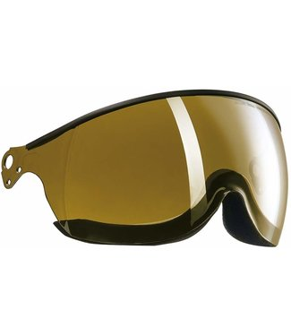 Kask Visor Piuma Gold mirror - Single Lens