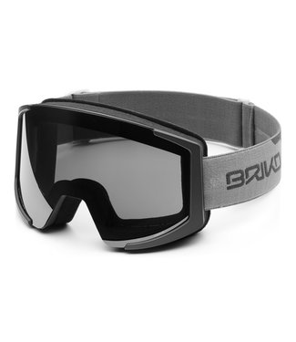 Briko Lava XL Ski Goggles With 2 Lenses M Smoke C Gray-Sm3P1