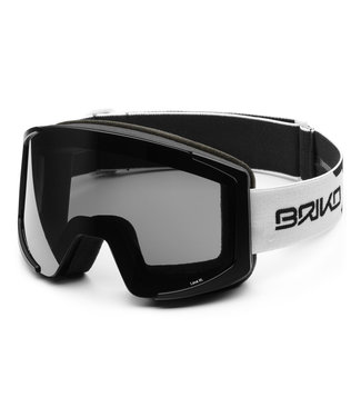 Briko Lava XL Ski Goggles With 2 Lenses Mt Wh-Black-Sm3P1