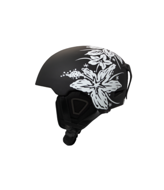 DMD Hawaiian - Casco de esquí en molde Negro