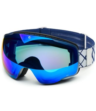 Briko Masque de Ski Kaba Matt Dark Blue-Bm2