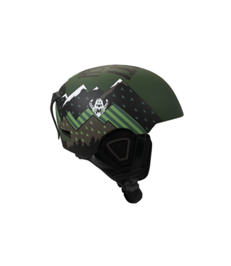 DMD Yeti - In-mold ski helmet Green