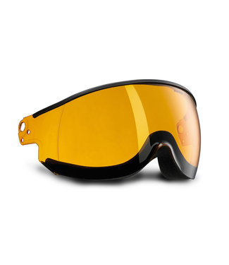 Kask Visor Piuma Orange Single Lens