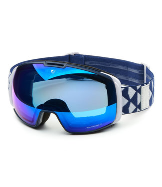 Briko Nyira Free Fighter 7.6 Ski Goggles Mt Dark Blue Wh-Bm2