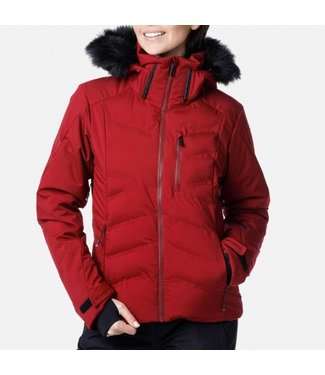 Rossignol Depart Jacket Dark Red Women