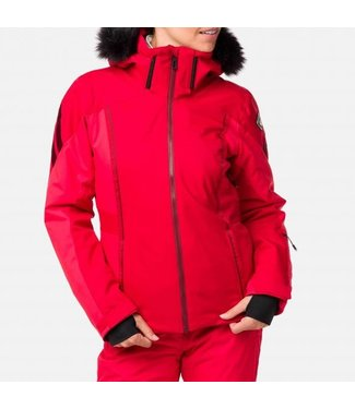 Rossignol Ski Jacket Carmin Red Ladies